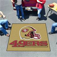 "San Francisco 49ers Tailgating Mat 60""x72"""