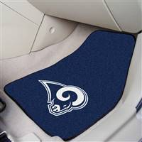 "St Louis Rams 2-Piece Carpeted Car Mats 18""x27"""