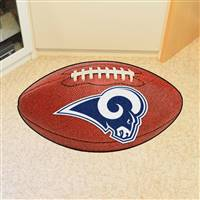 "St Louis Rams Football Rug 22""x35"""