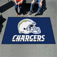 "San Diego Chargers Ulti-Mat Tailgating Mat 60""x96"""