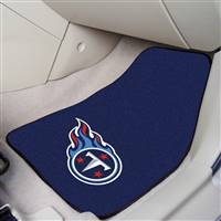 "Tennessee Titans 2-piece Carpeted Car Mats 18""x27"""