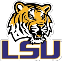 "Louisiana State (LSU) Tigers 12"" Vinyl Magnet"