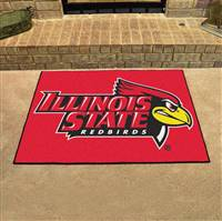"Illinois State University All-Star Mat 33.75""x42.5"""