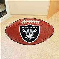 "NFL - Las Vegas Raiders Football Mat 20.5""x32.5"""