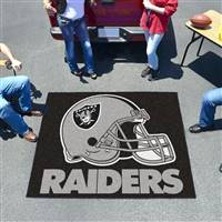 "Oakland Raiders Tailgating Mat 60""x72"""