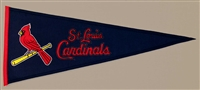 Saint Louis Cardinals Traditions Mid-Size Wool Pennant