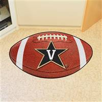 "Vanderbilt Commodores Football Rug 22""x35"""