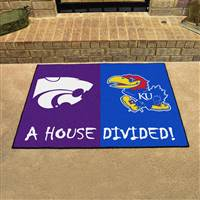 "Kansas - Kansas State House Divided Rug 34""x45"""