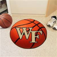 "Wake Forest Demon Deacons Basketball Rug 29"" diameter"