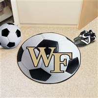 "Wake Forest University Soccer Ball Mat 27"" diameter"