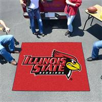"Illinois State Redbirds Tailgater Rug 60""x72"""