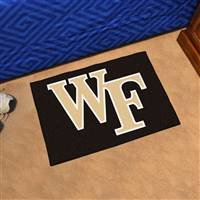 "Wake Forest Demon Deacons Starter Rug 20""x30"""