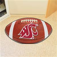 "Washington State Cougars Football Rug 22""x35"""