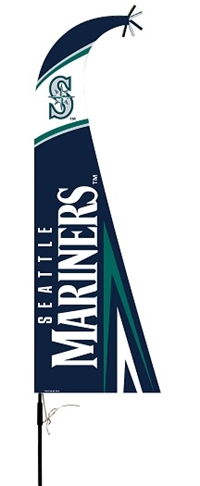 Seattle Mariners Feather Flag