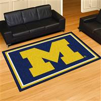 "Michigan Wolverines 5x8 Area Rug 60""x92"""