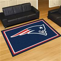 "New England Patriots 5x8 Area Rug 60""x 92"""