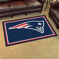 "New England Patriots 4x6 Area Rug 46""x72"""