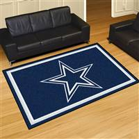 "Dallas Cowboys 5x8 Area Rug 60""x92"""