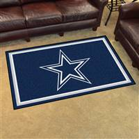 "Dallas Cowboys 4x6 Area Rug 46""x72"""