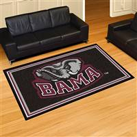 "Alabama Crimson Tide 5x8 Area Rug 60""x92"""