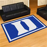 "Duke Blue Devils 5x8 Area Rug 60""x92"""
