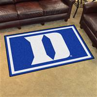 "Duke Blue Devils 4x6 Area Rug 46""x72"""