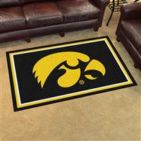 "Iowa Hawkeyes 4x6 Area Rug 46""x72"""