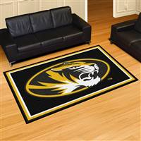 "Missouri Tigers 5x8 Area Rug 60""x92"""