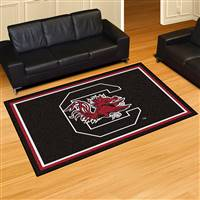 "South Carolina Gamecocks 5x8 Area Rug 60""x92"""