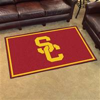 "Southern California (USC) Trojans 4x6 Area Rug 46""x72"""