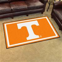 "Tennessee Volunteers 4x6 Area Rug 46""x72"""