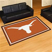 "Texas Longhorns 5x8 Area Rug 60""x92"""