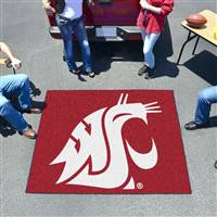 "Washington State Cougars Tailgater Rug 60""x72"""