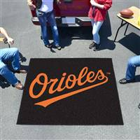 "Baltimore Orioles Tailgating Mat 60""x72"""