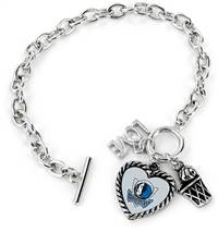Dallas Mavericks  Bracelet Charmed Sport Love Basketball - Special Order