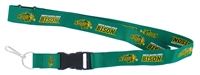 North Dakota State Bison Lanyard - Green - Special Order