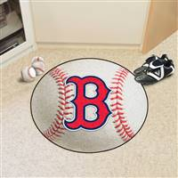 "Boston Red Sox Baseball Rug 29"" Diameter"