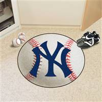 "New York Yankees Baseball Rug 29"" diameter"