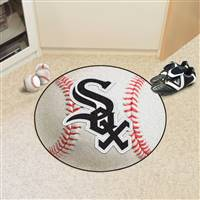 "Chicago White Sox Baseball Rug 29"" Diameter"