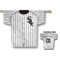 "Chicago White Sox Jersey Banner 34"" x 30"" - 2-Sided"