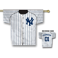"New York Yankees Jersey Banner 34"" x 30"" - 2-Sided"