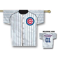 "Chicago Cubs Jersey Banner 34"" x 30"" - 2-Sided"