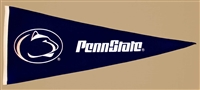 Penn State Nittany Lions Traditions Mid-Size Wool Pennant