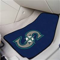 "Seattle Mariners 2-Piece Carpeted Car Mats 18""x27"""