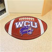 "Western Carolina (WCU) Catamounts Football Rug 22""x35"""