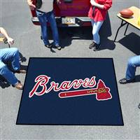 "Atlanta Braves Tailgating Mat 60""x72"""