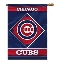 "Chicago Cubs House Banner 28"" x 40"""