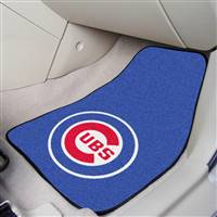 "Chicago Cubs 2-Piece Carpeted Car Mats 18""x27"""
