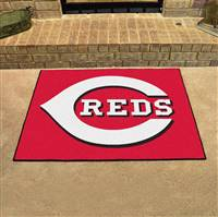 "Cincinnati Reds All-Star Rugs 34""x45"""