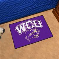 "Western Carolina (WCU) Catamounts Starter Rug 20""x30"""